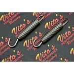 2 x Vito's STAINLESS STEEL swivel exhaust pipe springs Blaster 200 Banshee 350