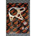 NEW BRAKE STAY Banshee round rear carrier bearing spacers caliper mount POLISHED