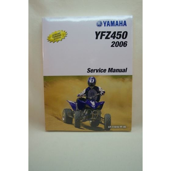 YFZ450 Repair Manual From Yamaha 2006