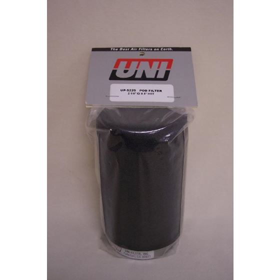 Uni Foam Clamp On Filter 2 1 4 X 5 For 34-35 MM Carbs