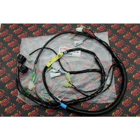 New 1997-2001 Yamaha Warrior Complete Factory OEM Wiring Harness Loom Plugs