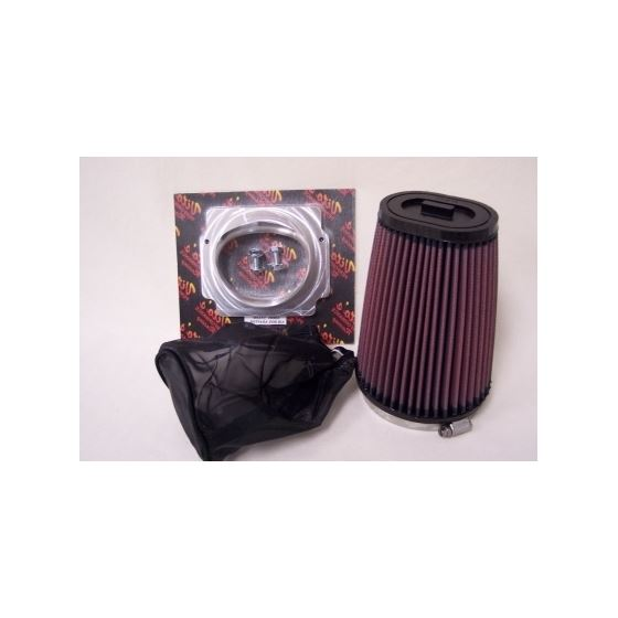 K N Filter With Billet Adaptor And Filter Bag For Stock Air Box-Rejetting Required