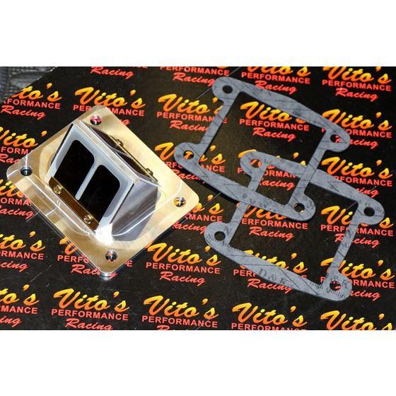 Vito's Performance billet BULLSEYE REED CAGES carbon flex reeds BLASTER 200