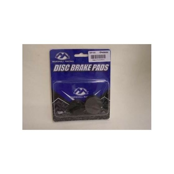 Rear Brake Pads-Blaster-Semi Metallic (1988-2002)