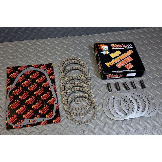 Vito's High performance CLUTCH FIBERS kit plates Yamaha Blaster cover gasket